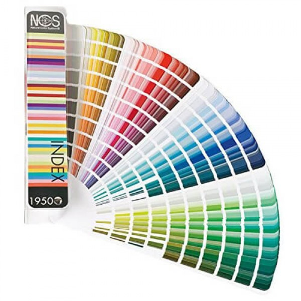 NCS Index 1950 colour fan